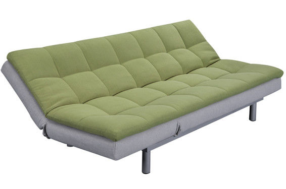 Bedroom Fabric Cover Functional Sofa Bed Steady Structure With Iron Legs