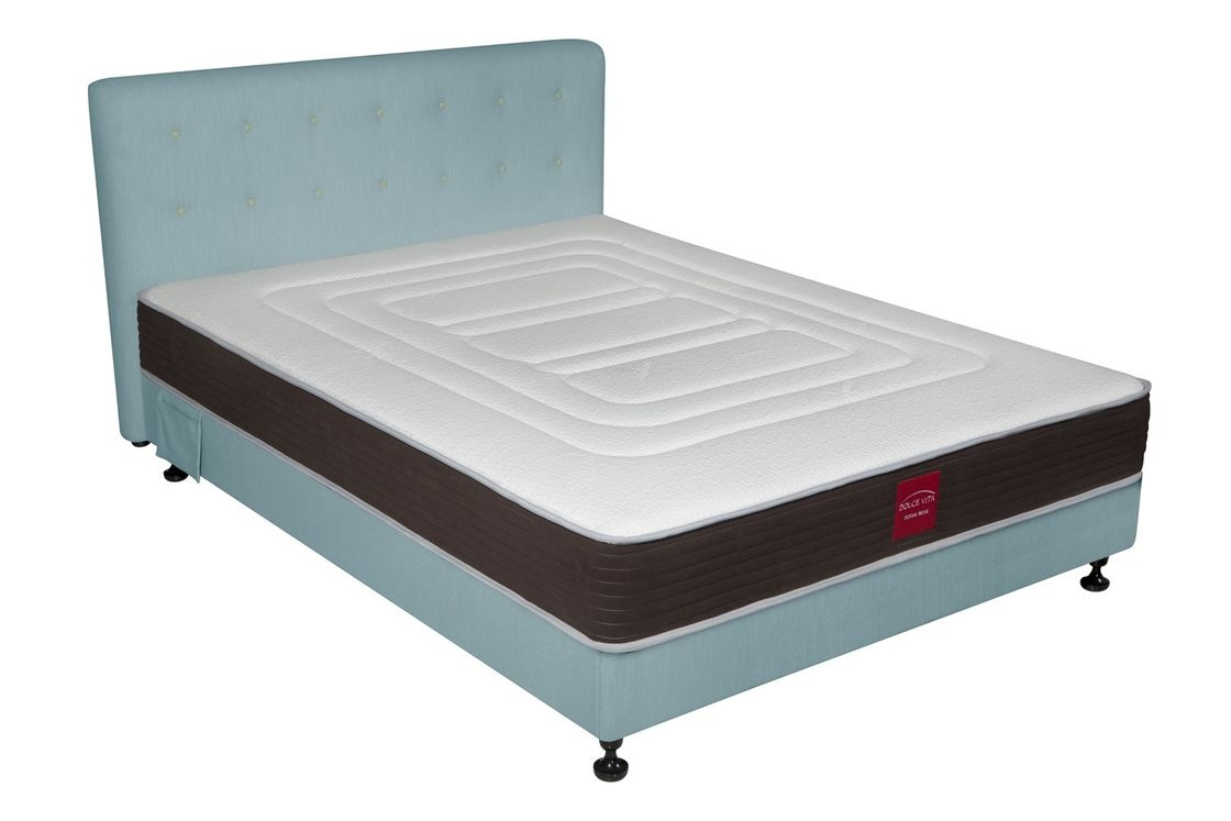 Home Coil And Memory Foam Mattress Rust - Proof Treatment Aluminum Legs